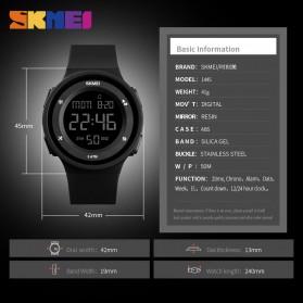 SKMEI Jam Tangan Digital Pria - 1445 - Black - 5