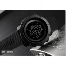 SKMEI Jam Tangan Digital Pria Pedometer Compass - 1430 - Black - 2