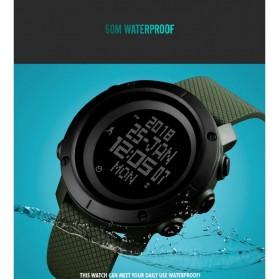 SKMEI Jam Tangan Digital Pria Pedometer Compass - 1430 - Black - 5
