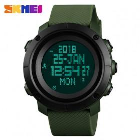 SKMEI Jam Tangan Digital Pria Pedometer Compass - 1430 - Green