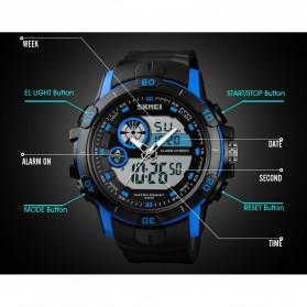 SKMEI Jam Tangan Kasual Digital Analog Pria - 1428 - Black/Blue - 3
