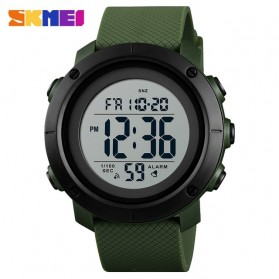 SKMEI Jam Tangan Digital Pria  - 1434 - White/Green