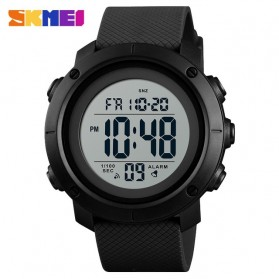 SKMEI Jam Tangan Digital Pria  - 1434 - Black White