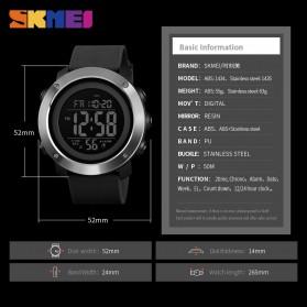 SKMEI Jam Tangan Digital Pria  - 1434 - Black/Black - 6