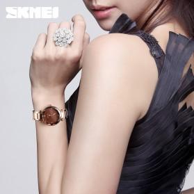 SKMEI Jam Tangan Analog Wanita - 9180 - Coffee/Gold - 3