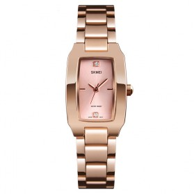 SKMEI Jam Tangan Fashion Wanita - 1400 - Rose Gold