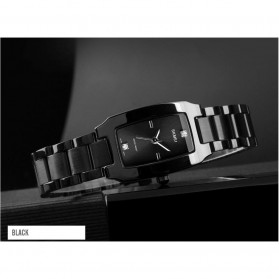 SKMEI Jam Tangan Fashion Wanita - 1400 - Black - 2