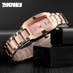 SKMEI Jam Tangan Fashion Wanita - 1400 - Black - 6