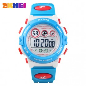 SKMEI Kids Jam Tangan Sporty Anak - 1451 - Blue/White
