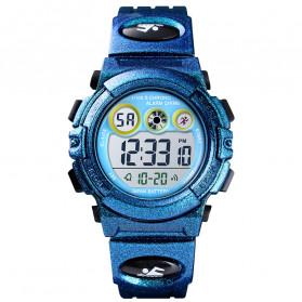SKMEI Kids Jam Tangan Sporty Anak - 1451 - Blue Metalic