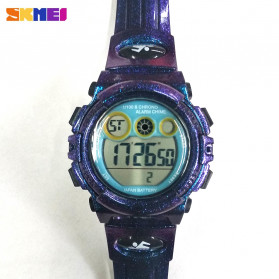 SKMEI Kids Jam Tangan Sporty Anak - 1451 - Light Purple - 4