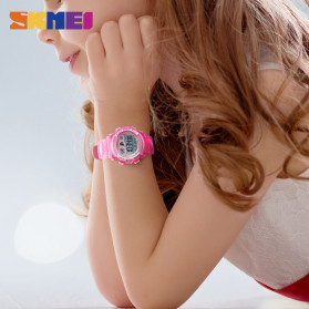 SKMEI Kids Jam Tangan Sporty Anak - 1451 - Light Purple - 5