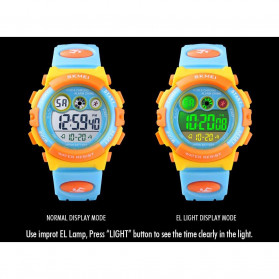 SKMEI Kids Jam Tangan Sporty Anak - 1451 - Light Purple - 7