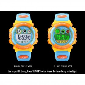 SKMEI Kids Jam Tangan Sporty Anak - 1451 - Light Blue - 4