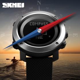 SKMEI Jam Tangan Digital Pria Pedometer Compass - 1431 - Black - 3
