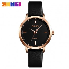 SKMEI Jam Tangan Analog Dress Wanita - 1457 - Black/Black