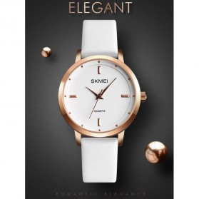 SKMEI Jam Tangan Analog Dress Wanita - 1457 - Brown/White - 8