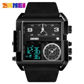 SKMEI Vogue Jam Tangan Digital Analog Pria - 1391 - Black