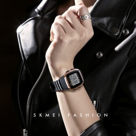 SKMEI Jam Tangan Digital Pria - 1278 - Titanium Gray - 4