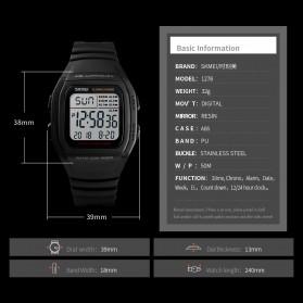 SKMEI Jam Tangan Digital Pria - 1278 - Titanium Gray - 6