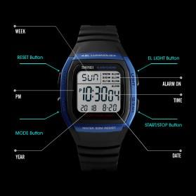 SKMEI Jam Tangan Digital Pria - 1278 - Blue - 5