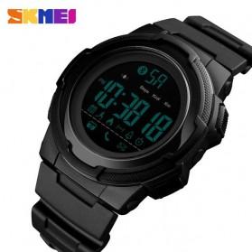 SKMEI Jam Tangan Olahraga Smartwatch Bluetooth - 1440 - Black - 2
