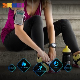 SKMEI Jam Tangan Olahraga Smartwatch Bluetooth - 1440 - Black - 4