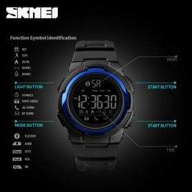 SKMEI Jam Tangan Olahraga Smartwatch Bluetooth - 1440 - Black - 5