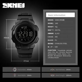 SKMEI Jam Tangan Olahraga Smartwatch Bluetooth - 1440 - Navy Blue - 6