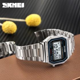 SKMEI Jam Tangan Digital Pria - 1474 - Silver - 2