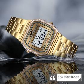 SKMEI Jam Tangan Digital Pria - 1474 - Golden - 4