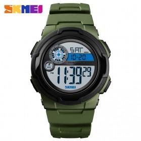 SKMEI Jam Tangan Digital Pria - 1437 - Army Green