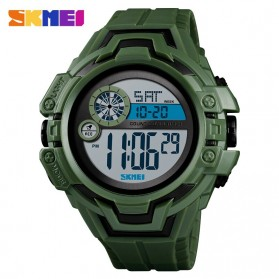 SKMEI Jam Tangan Digital Pria - 1446 - Army Green