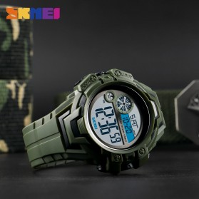 SKMEI Jam Tangan Digital Pria - 1446 - Army Green - 3