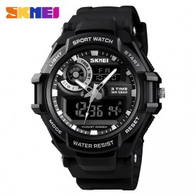 SKMEI Jam Tangan Analog Digital Pria - 1357 - Black