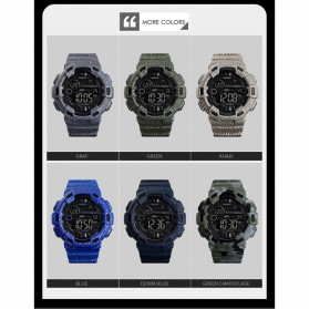 SKMEI Jam Tangan Digital Outdoor Pria - 1472 - Gray - 3