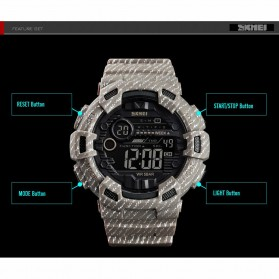 SKMEI Jam Tangan Digital Outdoor Pria - 1472 - Gray - 4