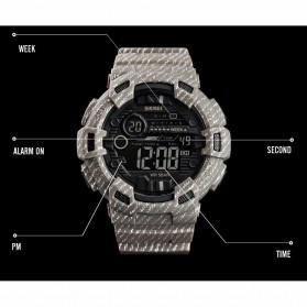 SKMEI Jam Tangan Digital Outdoor Pria - 1472 - Gray - 5