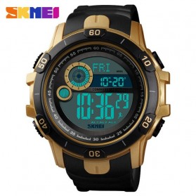 SKMEI Jam Tangan Digital Adventure Pria - 1480 - Golden