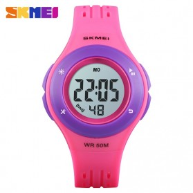 SKMEI Kids Jam Tangan Sporty Anak - 1455 - Purple