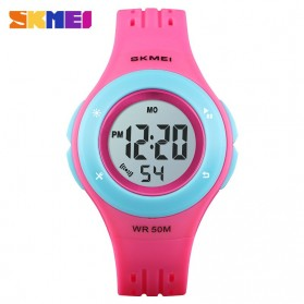 SKMEI Kids Jam Tangan Sporty Anak - 1455 - Red/Blue