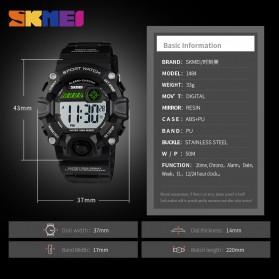 SKMEI Kids Jam Tangan Sporty Anak - 1484 - Black - 6