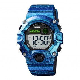 SKMEI Kids Jam Tangan Sporty Anak - 1484 - Blue Metalic - 1