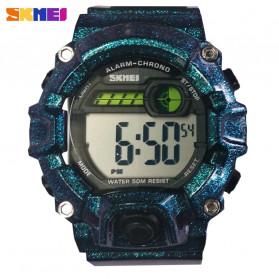 SKMEI Kids Jam Tangan Sporty Anak - 1484 - Blue Metalic - 3