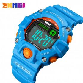 SKMEI Kids Jam Tangan Sporty Anak - 1484 - Blue Metalic - 6