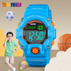 SKMEI Kids Jam Tangan Sporty Anak - 1484 - Blue Metalic - 9