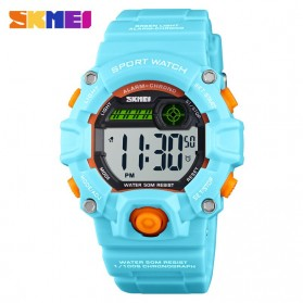 SKMEI Kids Jam Tangan Sporty Anak - 1484 - Light Blue
