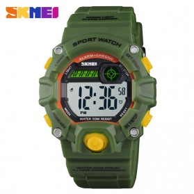 SKMEI Kids Jam Tangan Sporty Anak - 1484 - Army Green