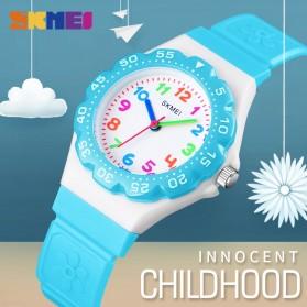 SKMEI Kids Jam Tangan Sporty Anak - 1483 - Light Blue - 5