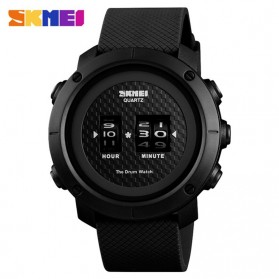 SKMEI Jam Tangan Analog Pria ABS Ring - 1486 - Black/Black